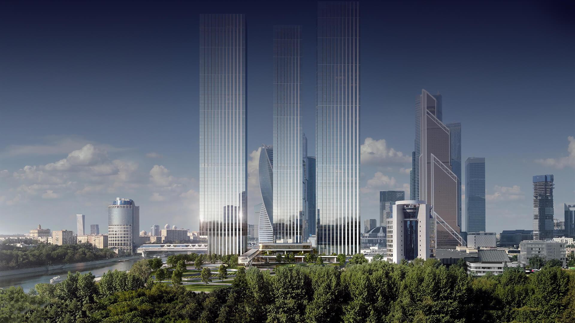 Квартиры в небоскребах жк Capital Towers