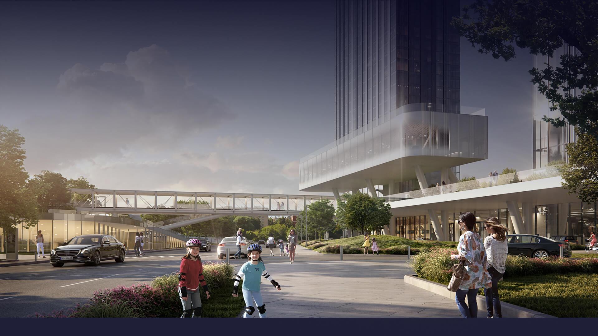 Архитектура жк Capital Towers