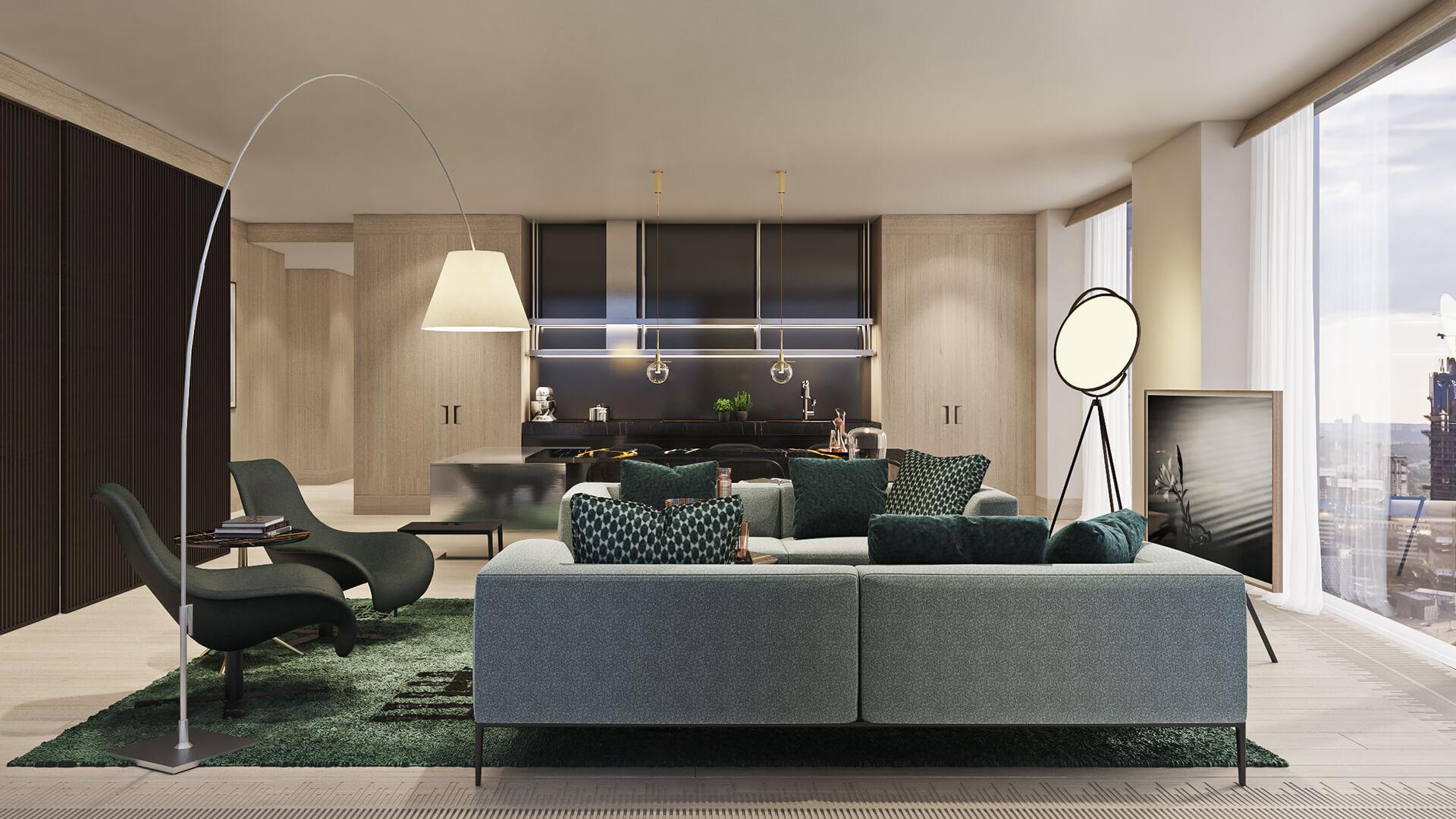 Премиальная отделка квартир жилого комплекса Capital Towers