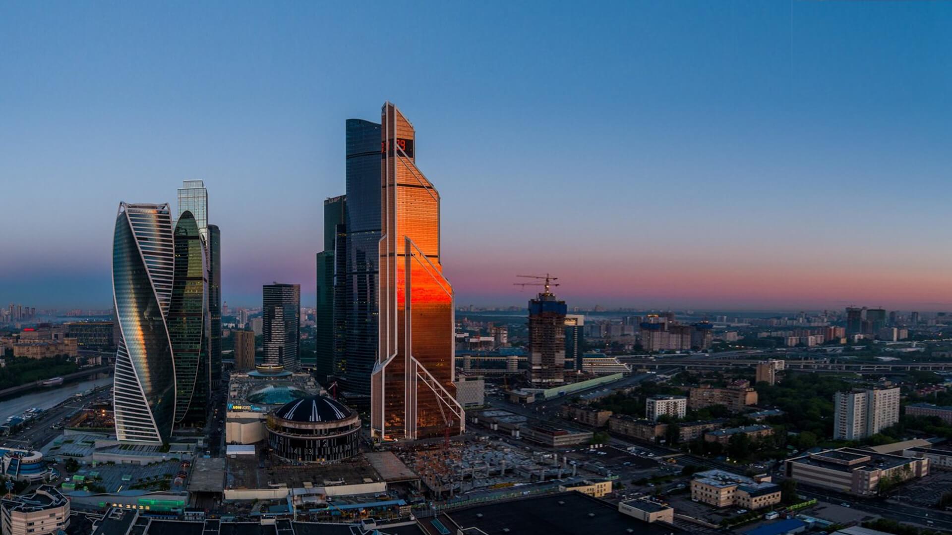 Завораживающие виды из окон жк Capital Towers