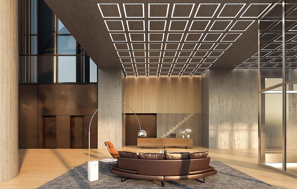 Лобби жилого комплекса CapitalTowers фото 1