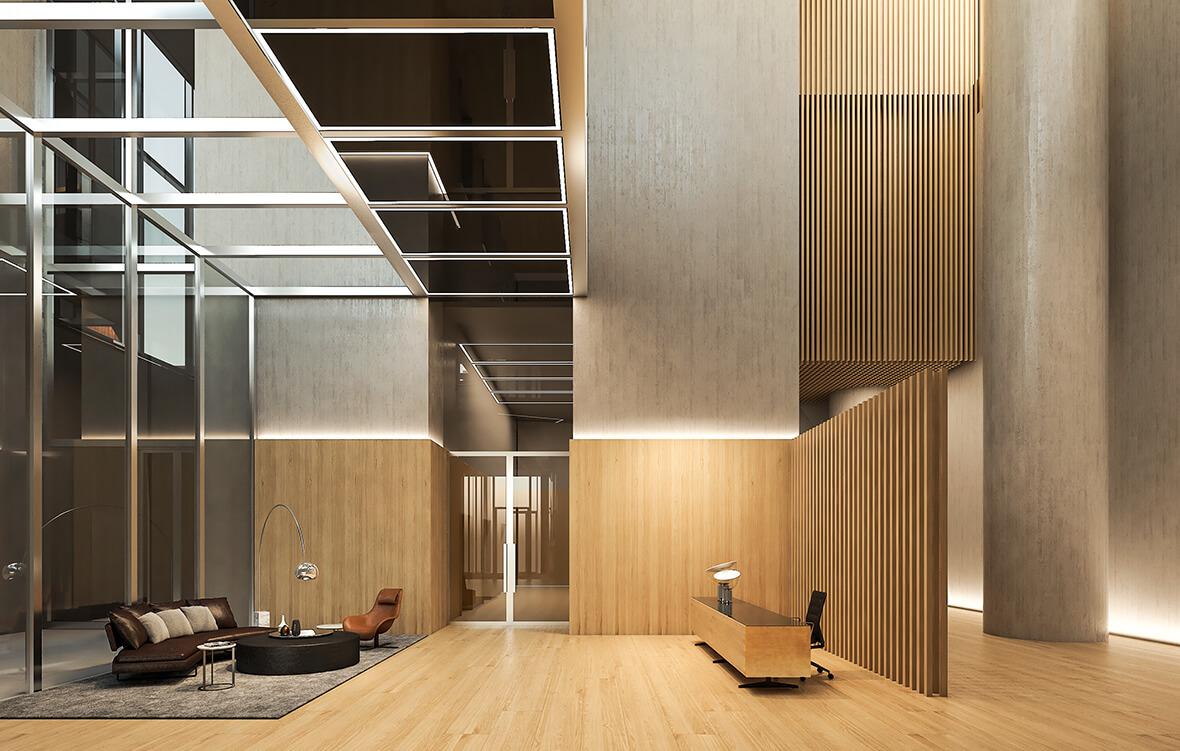 Лобби жилого комплекса CapitalTowers фото 3