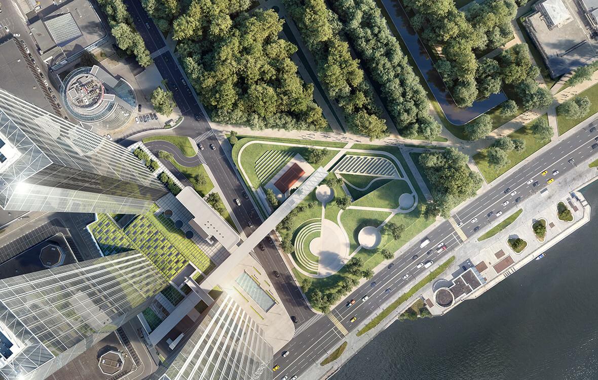 Ландшафтный парк Capital Towers, фото 1