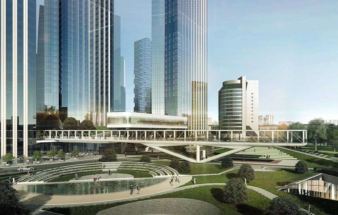 Ландшафтный парк Capital Towers, фото 2