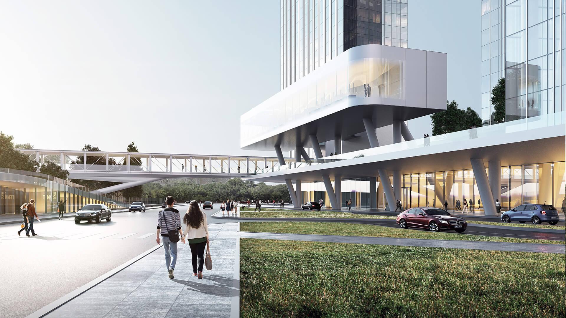 Общественная инфраструктура Capital Towers